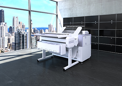 "ROWE_PM_VarioFold_Compact_Online_Bild_1_klein 德国瑞网荣获德国""最具创新力企业100强""奖项 |大幅面彩色打印机|扫描仪|蓝图机|工程机|叠图机|裁切机专家"