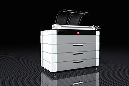 ROWE_ColorPress_Bild 产品展示 |大幅面彩色打印机|扫描仪|蓝图机|工程机|叠图机|裁切机专家