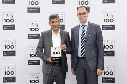 "csm_T100_17_Verleihung_web_e0b1425fd8 德国瑞网荣获德国""最具创新力企业100强""奖项 |大幅面彩色打印机|扫描仪|蓝图机|工程机|叠图机|裁切机专家"