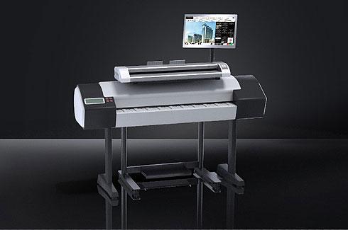 rowe-scan450i-mfp ROWE Scan 450i |大幅面彩色打印机|扫描仪|蓝图机|工程机|叠图机|裁切机专家