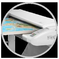 rowe-scan_850i-höhenverstellung ROWE Scan 850i |大幅面彩色打印机|扫描仪|蓝图机|工程机|叠图机|裁切机专家